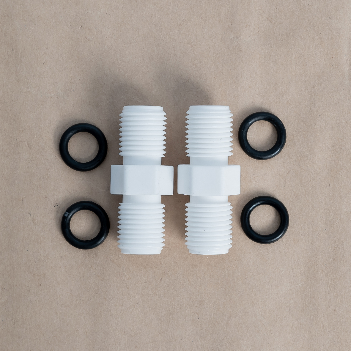 Bộ 2 nối thẳng 02 đầu ren ngoài 13 -13 nối ly lọc, cốc lọc