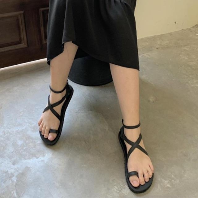 Giày Sandals quai chéo đơn giản _ No.19