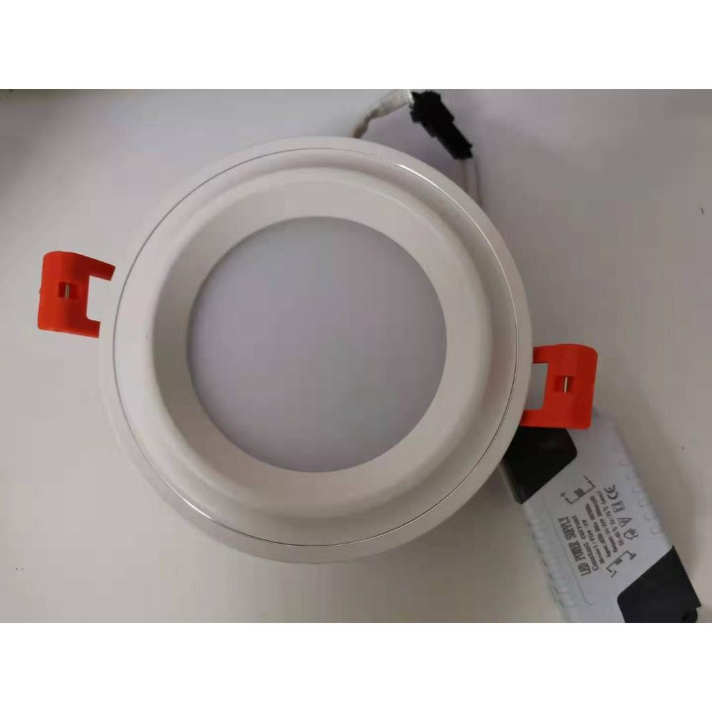 Bóng đèn led âm trần downlight 7w 6500k