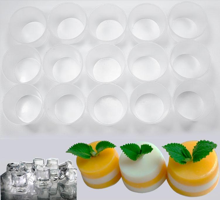 Combo 10 Khuôn Làm Bánh Flan Có Nắp Inox 304 Tặng 20 Khuôn Nhựa