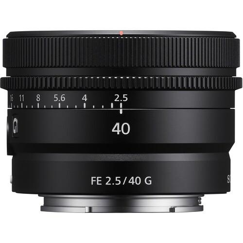 Ống kính Sony FE 40mm f/2.5 G - Hàng Chính hãng