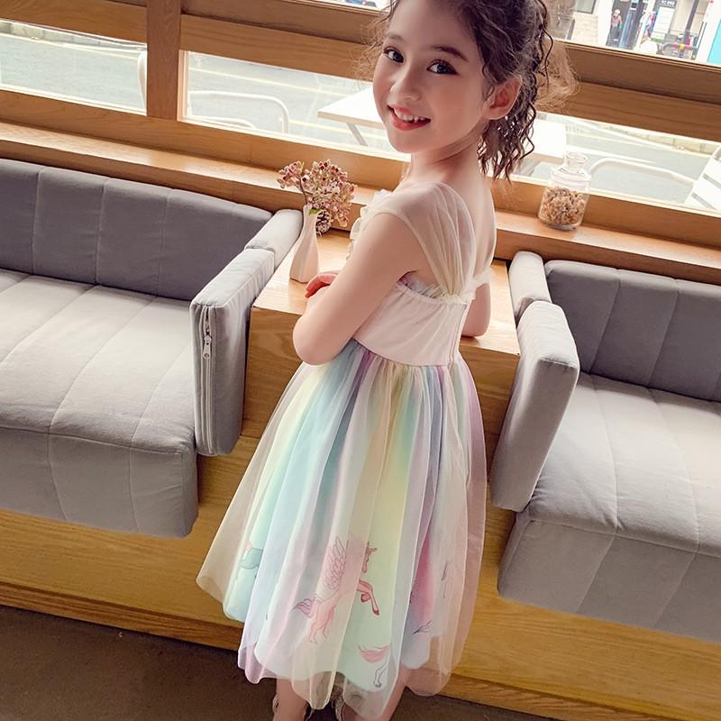 VT60Size100-140 (12-30kg)Váy đầm bé gái - Kiểu dáng công chúaThời trang trẻ Em hàng quảng châu