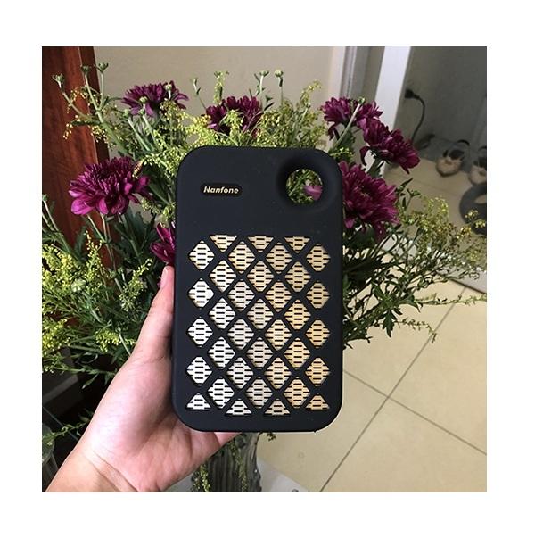 Máy trợ giảng không dây Nanfone NF-007 Wireless, Có Bluetooth Kèm theo: 1 Micro ko dây cài tai hạt đậu mầu da + 1 Speaker KBS-6029/KBS-6030 FM/USB/TF tích hợp đèn pin siêu sáng - Hàng nhập khẩu