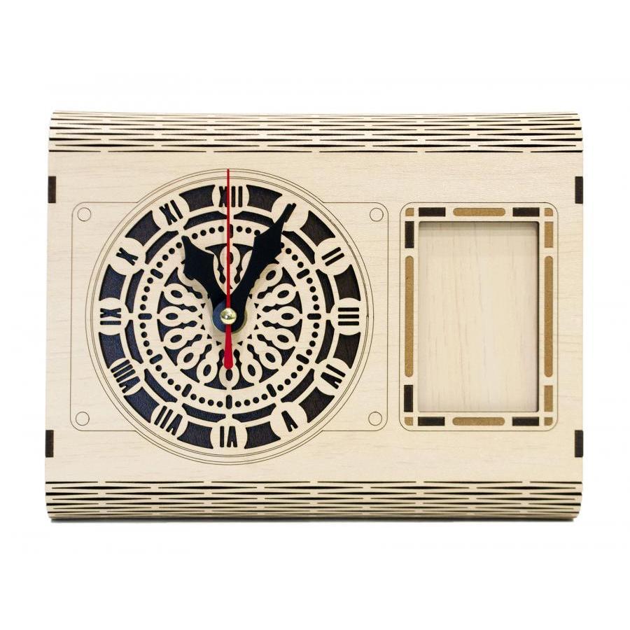 Đồng hồ gỗ lắp ráp - lịch vạn niên Jonnydecor D05