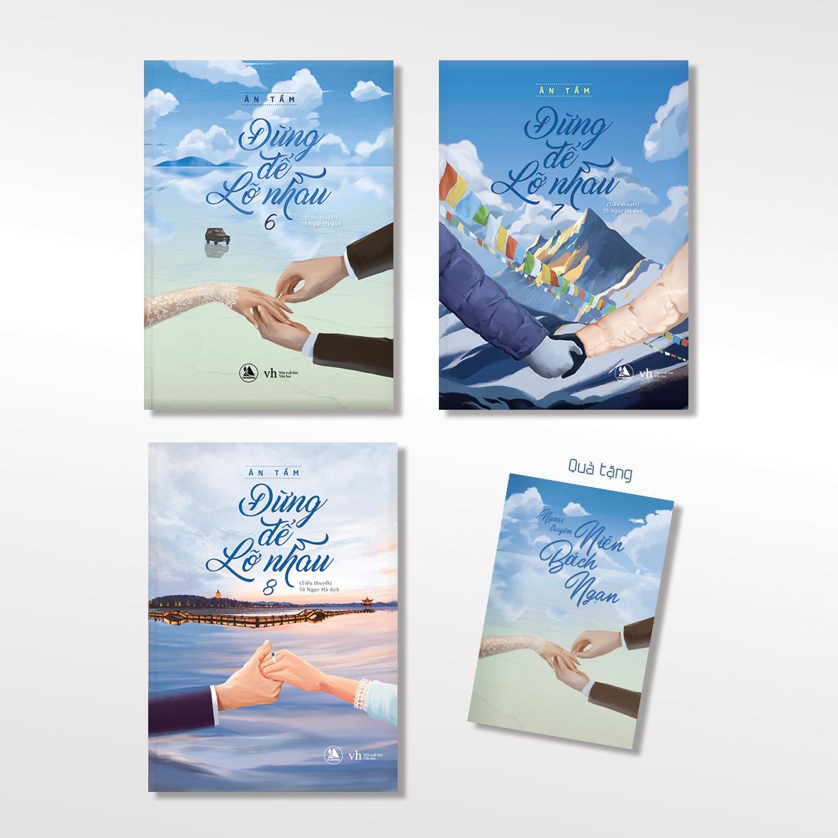 Đừng Để Lỡ Nhau (Tập 6 + 7 + 8) - Tặng Kèm Sổ Ngoại Truyện