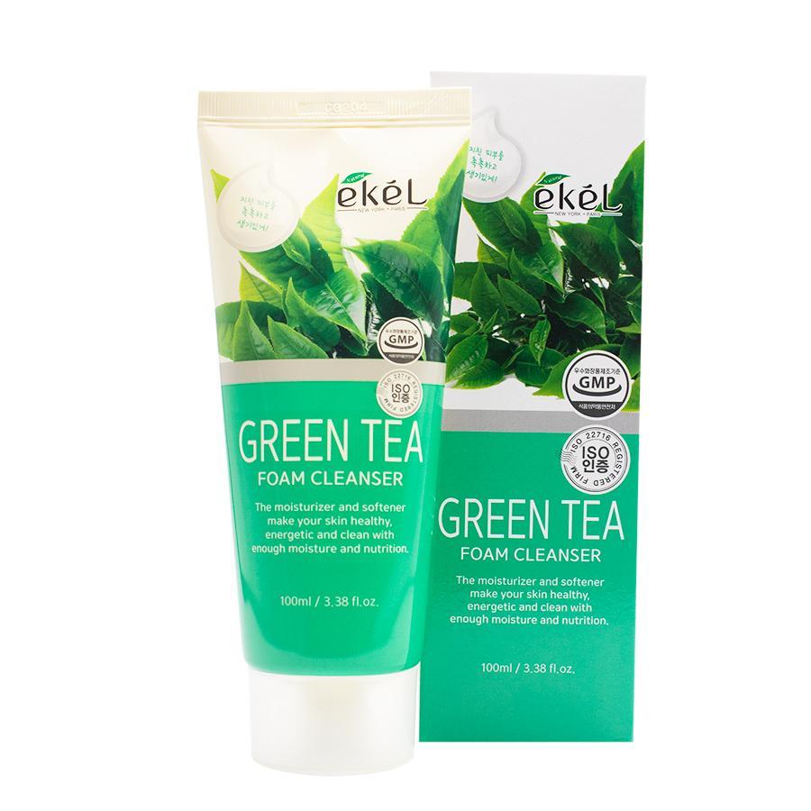 Sữa rửa mặt Trà xanh Ekel 100ml