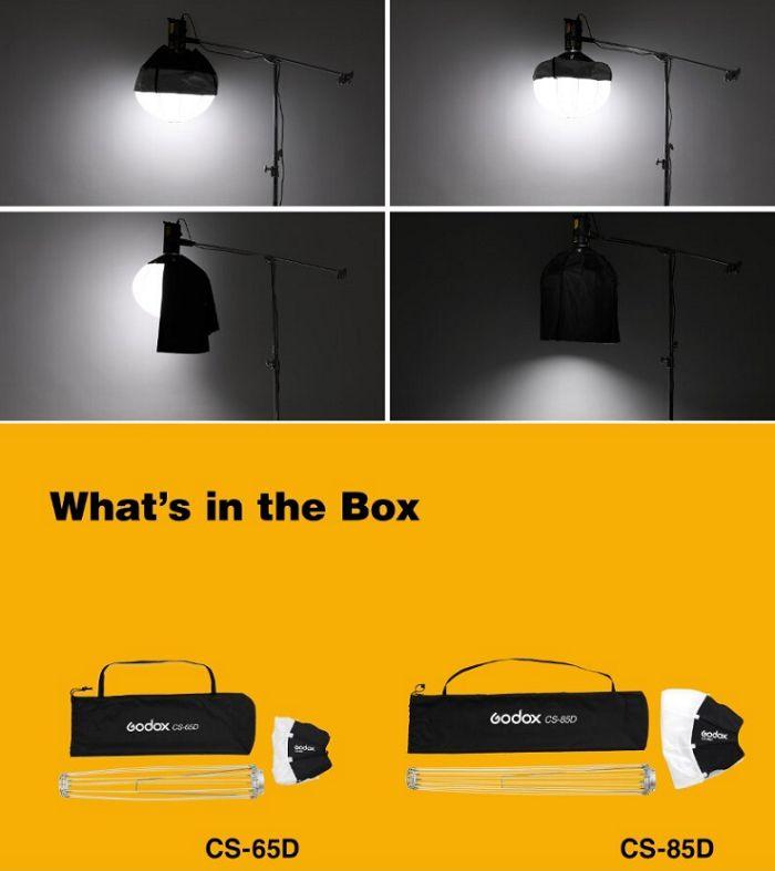 Softbox cầu Godox 65cm CS-65D Hàng Chính Hãng