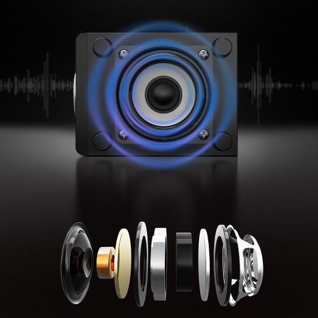 Bộ 3 Loa Siêu Trầm Bluetooth Gaming D-200T Hỗ Trợ Dây Kết Nối Cổng USB, Jack 3.5 Dùng Cho Máy Vi Tính PC, Laptop, Tivi