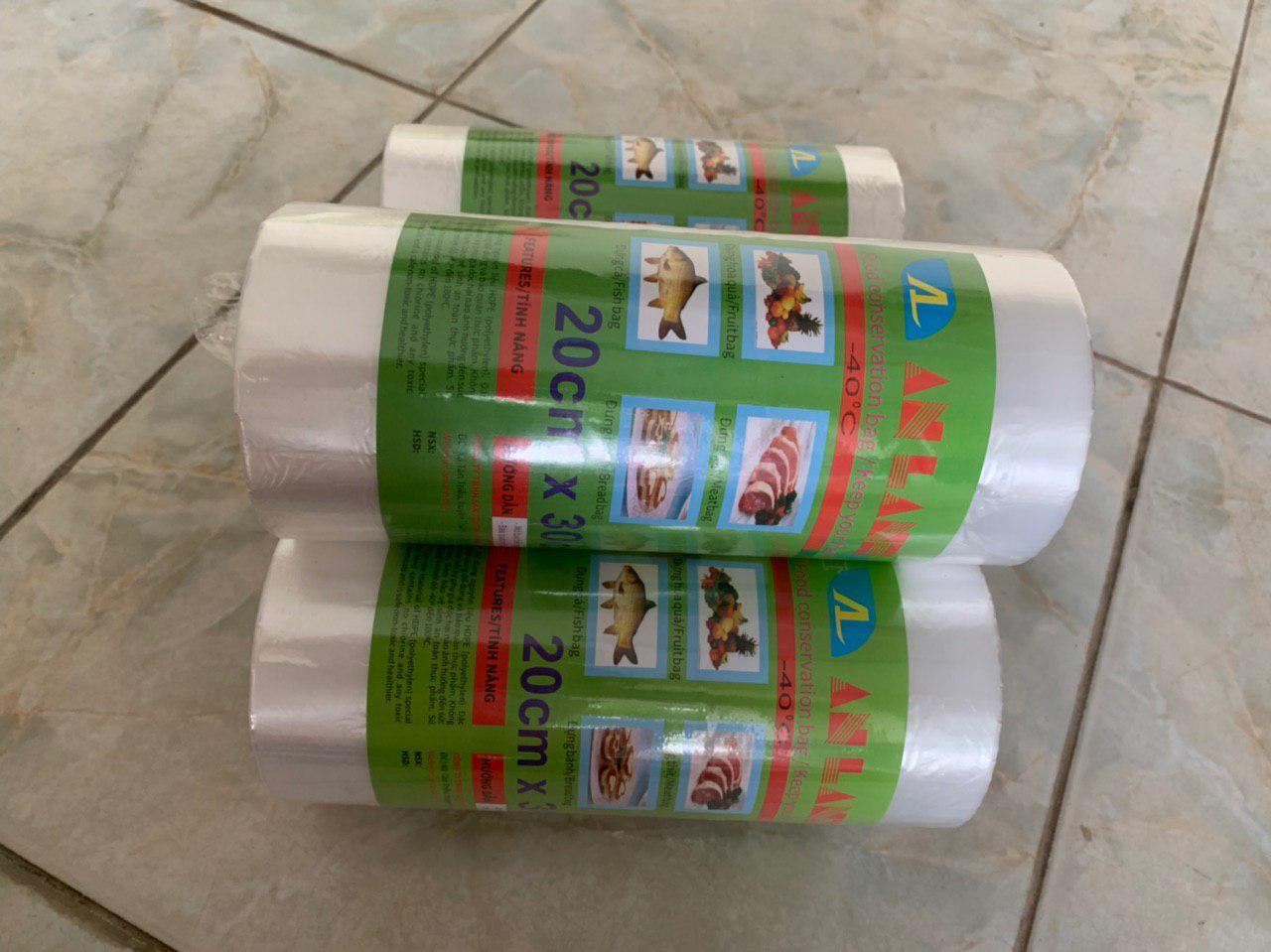 Túi đựng thực phẩm tự hủy sinh học An Lành 20x30cmx1kg