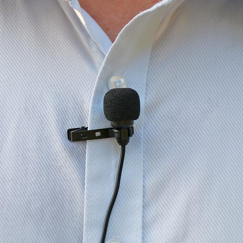 Micro cài áo cho điện thoại và máy ảnh AriMic Clip-on