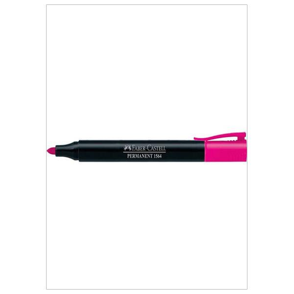 Bút đánh dấu vĩnh viễn pink (hồng) Faber 156428