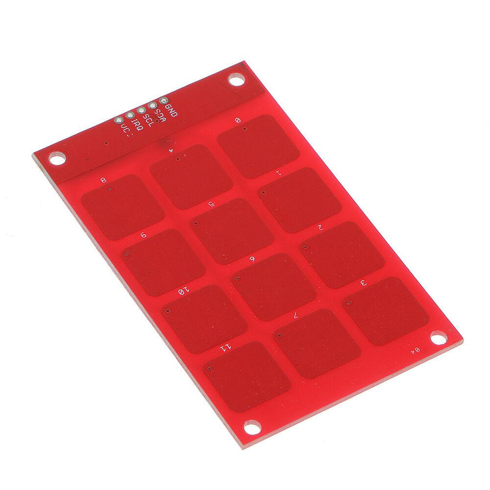 Bàn phím cảm ứng điện dung 3x4 MPR121