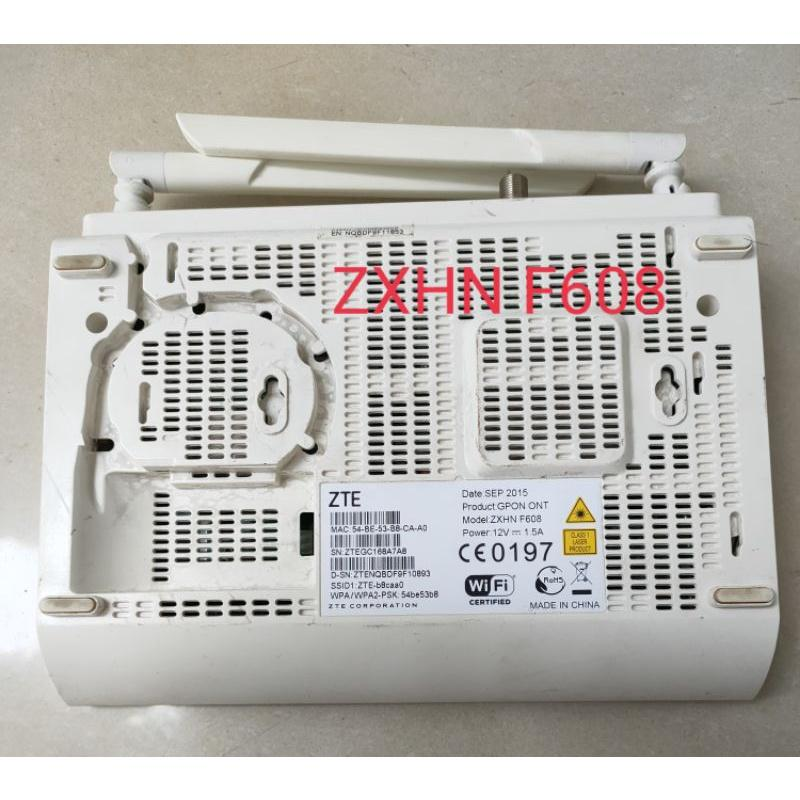 Bộ phát wifi GPON ZTE - F608 Phát wifi tốc độ GPON dùng mở rộng wifi