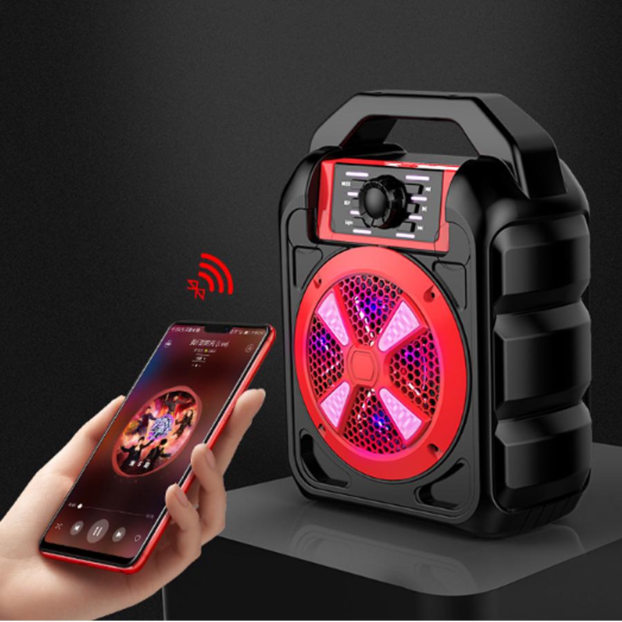 Loa Bluetooth Cao Cấp Hát Karaoke Trên Smartphone, Iphone, Ipad Xách Tay Đa Năng B502