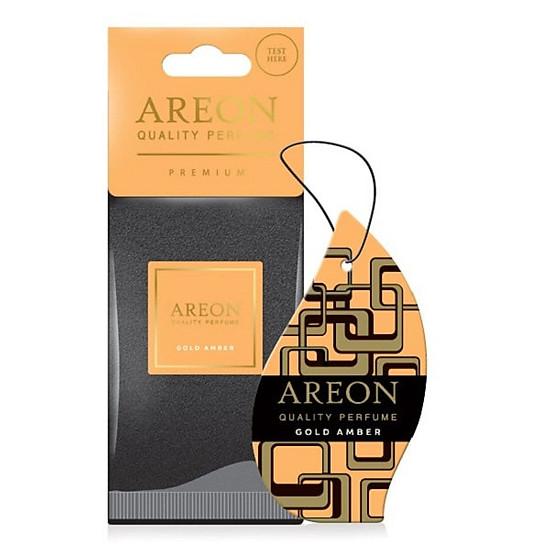 Nước Hoa Ô Tô AREON Car Platinum Perfume 50ml - NHẬP KHẨU BULGARIA - TẶNG Lá Thơm AREON Gold Amber - Hàng Chính Hãng