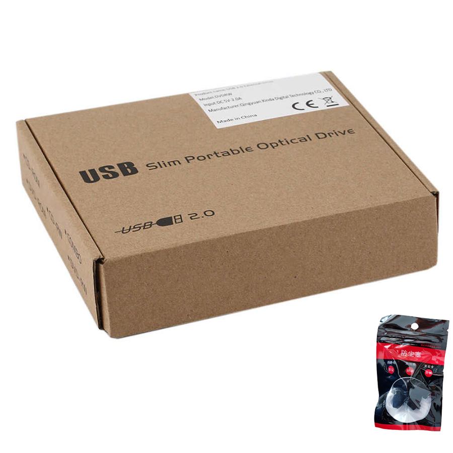 Box đựng ổ DVD Laptop giao tiếp USB 2.0