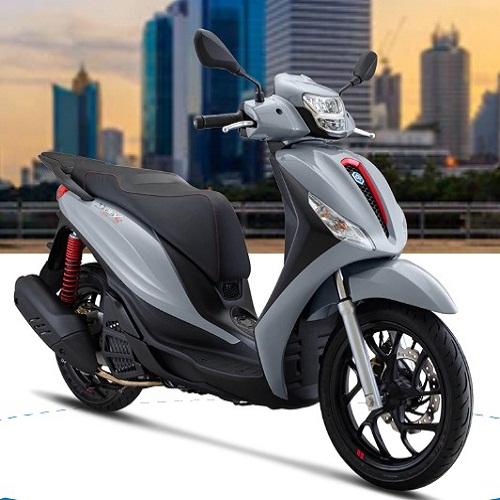 Xe máy Piaggio Medley 150 S ABS LED - XÁM (BẠC)