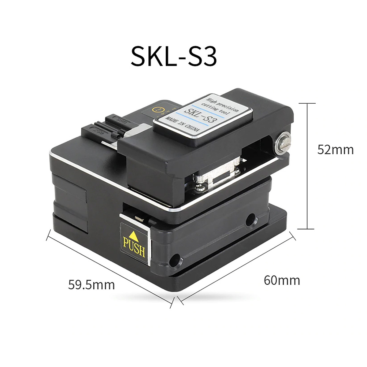 Dao cắt sợi Quang SKL-S3 có túi bảo vệ (đen)