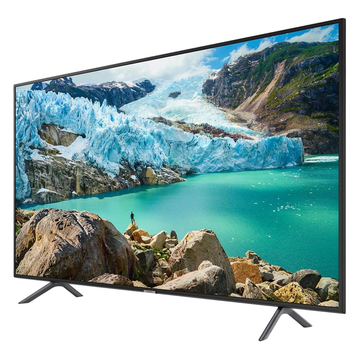 Smart Tivi Samsung 55 inch 4K UHD UA55RU7200KXXV - Hàng chính hãng + Tặng Khung Treo Cố Định