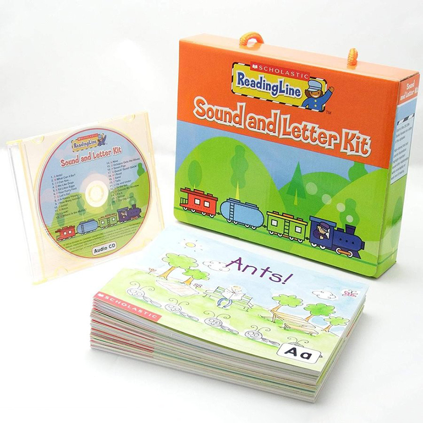 Reading Line Sound & Letter Kit (With Cd)