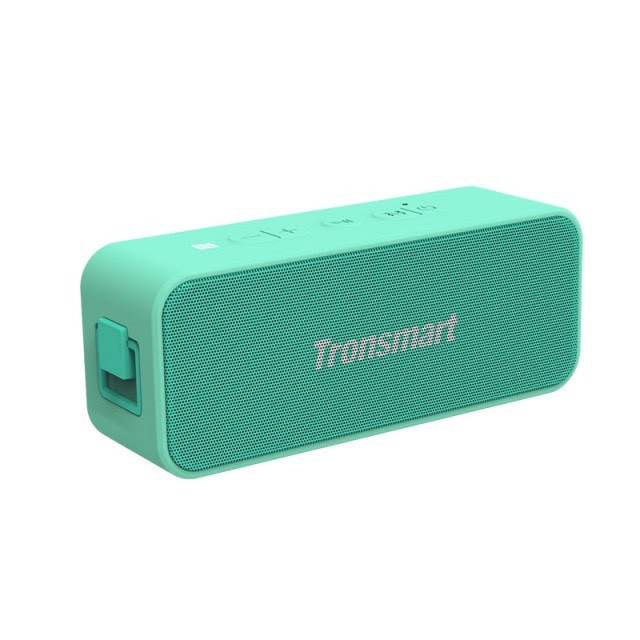 Loa Bluetooth 5.0 Tronsmart T2 Plus Phiên bản đặc biệt Công suất 20W Hỗ trợ TWS và NFC ghép đôi 2 loa Âm thanh vòm 360 độ kết hợp bass trầm Chống nước IPX7 Có Mic đàm thoại Dùng cho điện thoại và máy tính bảng Thời gian nghe nhạc 24h - Hàng nhập khẩu