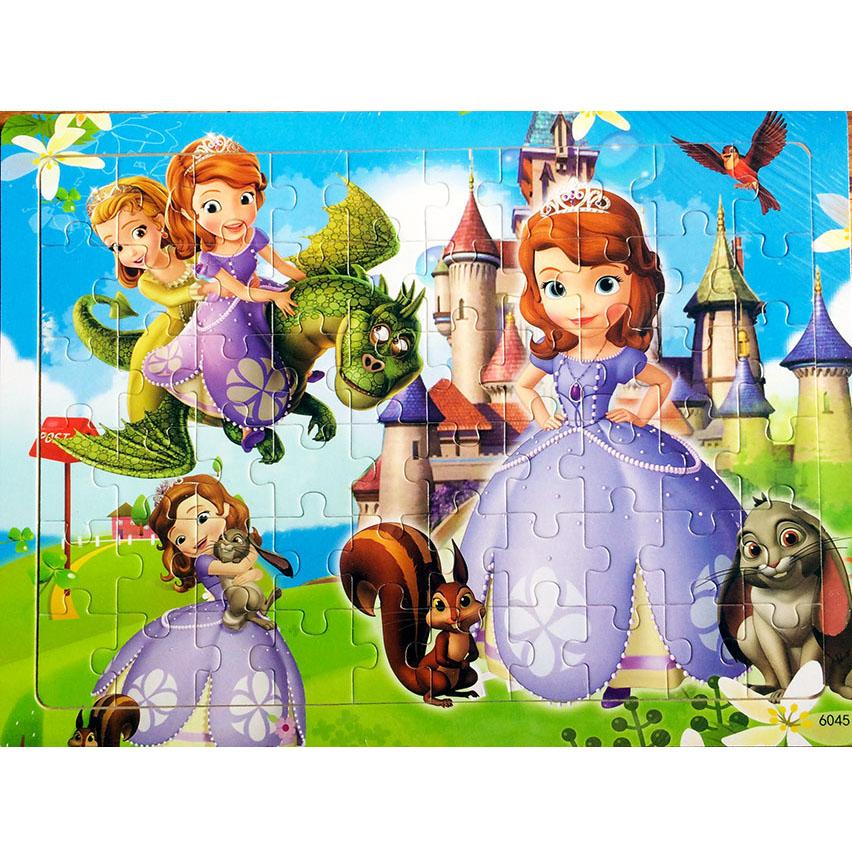 Tranh ghép gỗ 60 mảnh - Công chúa Sofia