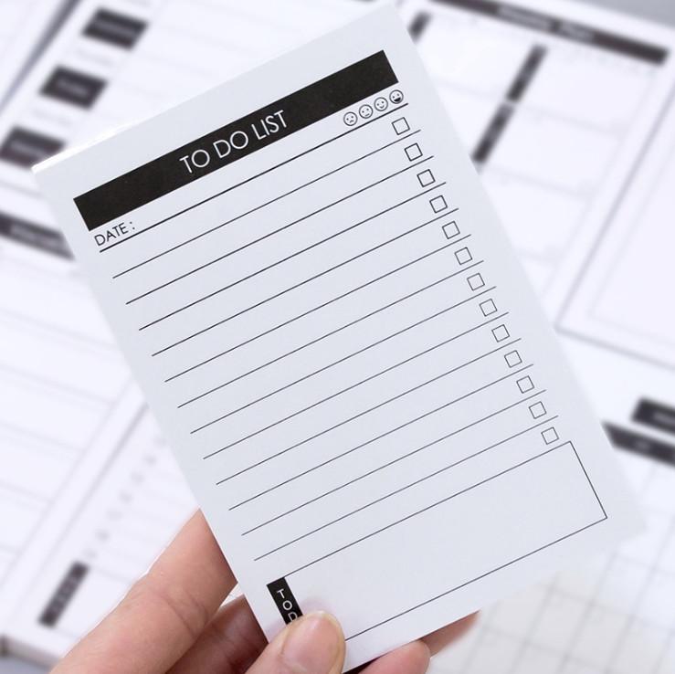Tập Giấy Note Ghi Chú Kế Hoạch Ngày - To Do List (50 Tờ) Ver.2