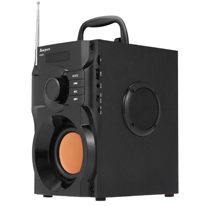 Loa Bluetooth Cao Cấp Super Bass RS - A100 (có điều khiển từ xa)