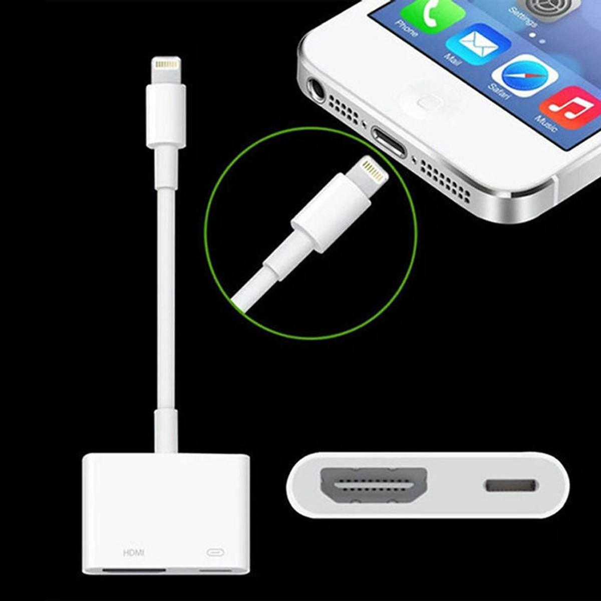 Cáp lightning to hdmi cho iPhone, iPad