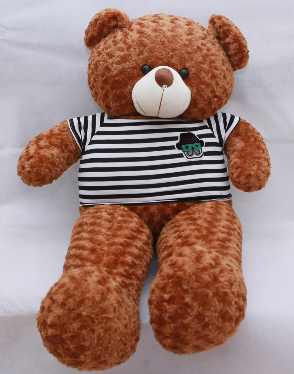 Gấu bông Gấu Teddy cao cấp, dễ thương, ngộ nghĩnh khổ vải 1m6 cao 1m4