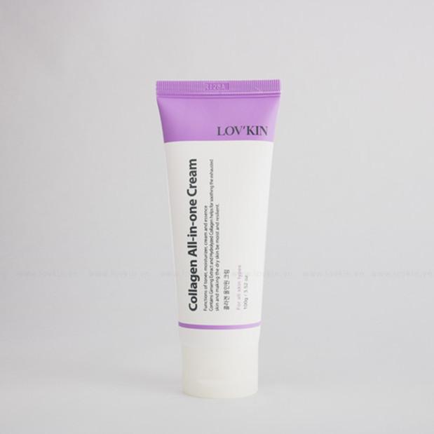 LovKin Collagen All in One Cream Kem dưỡng da có chứa Collagen chống lão hóa LovKin