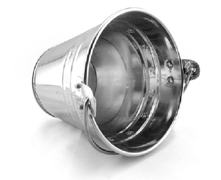 Xô Đá Inox Thành Đô size 27cm -11lit