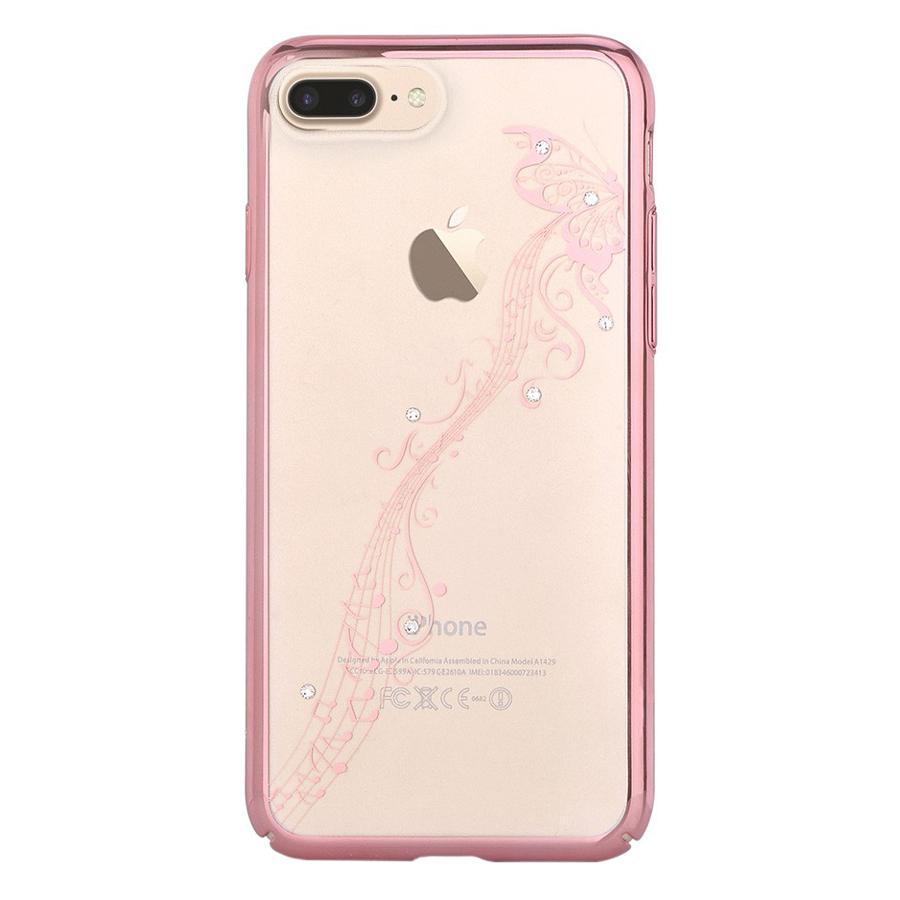 Ốp Lưng iPhone 7 Plus Devia Crystal Papillon