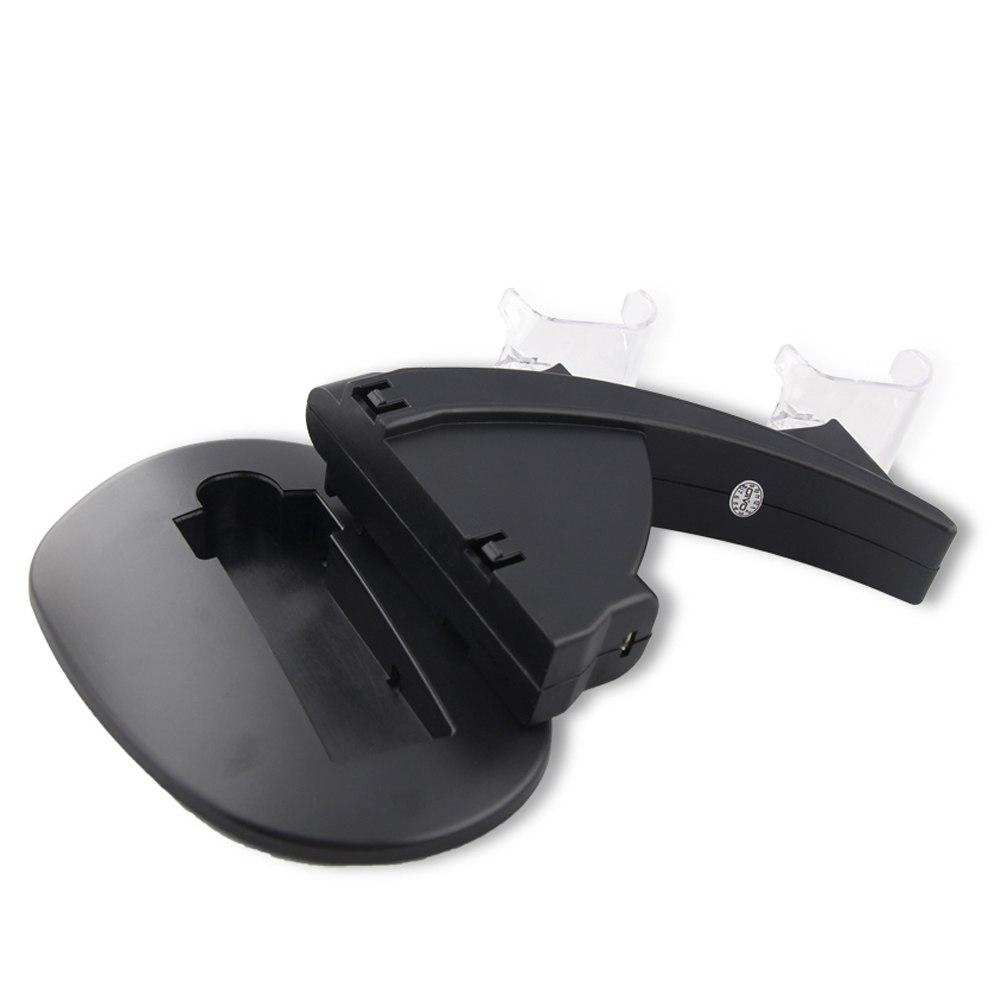 Dock sạc kiêm kệ đỡ cho tay cầm chơi game PS4 Slim và Pro hiệu HOTCASE - Hàng nhập khẩu