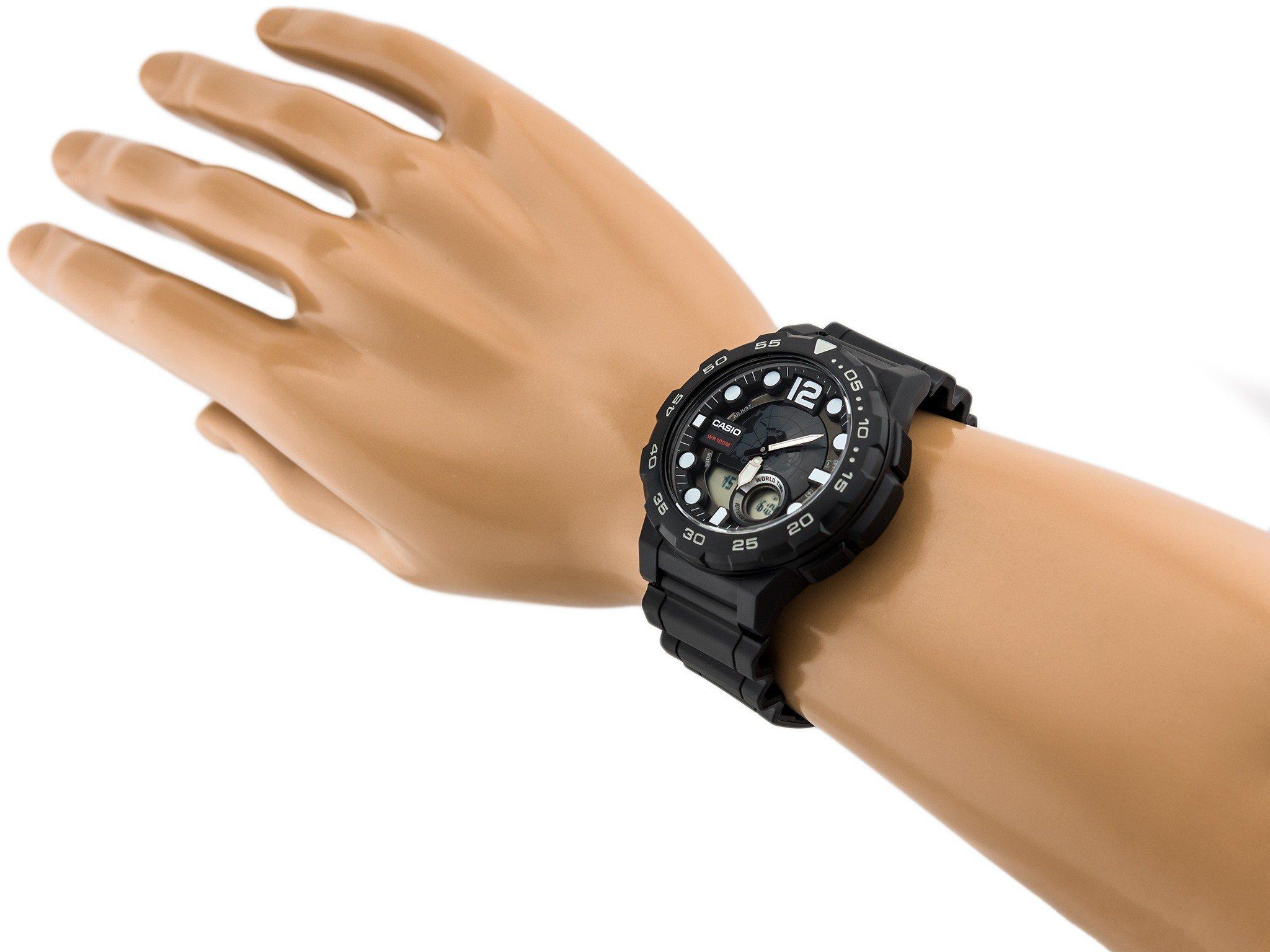 Đồng hồ nam dây nhựa Casio AEQ-100W-1AVDF