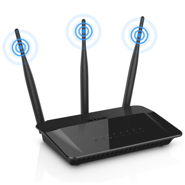 Bộ phát Wifi D-Link DIR-809 AC750 - Hàng Chính Hãng