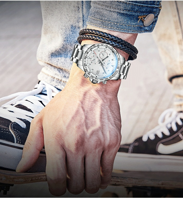 Đồng hồ nam Aborni Multifunctional