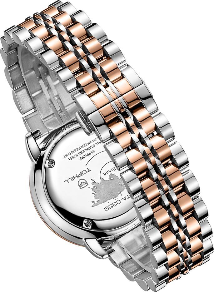 Đồng hồ nam chính hãng Thụy Sĩ  TOPHILL TA035G.S7292