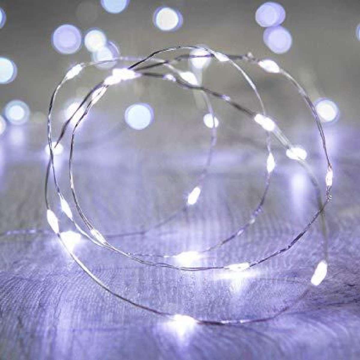 Dây đèn led đom đóm 8 chế độ siêu sáng GIVASOLAR-UCSL (10M-100LED-Đầu USB)