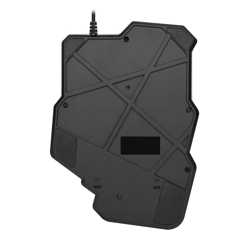 Bàn phím một tay bán cơ Promax G92 chơi game Pubg Mobile, Rules of Survival, Free Fire trên điện thoại, máy tính bảng, Laptop và PC - Hàng nhập khẩu