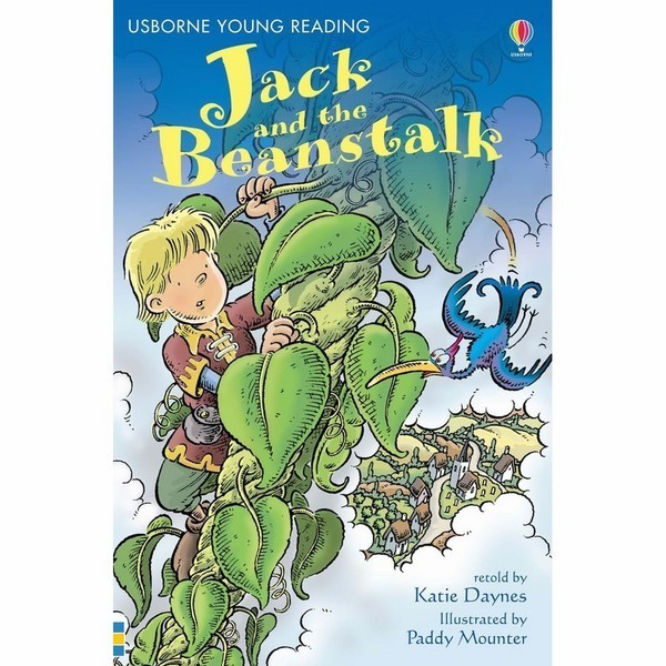 Usborne Young Reading Series One: Jack and the Beanstalk