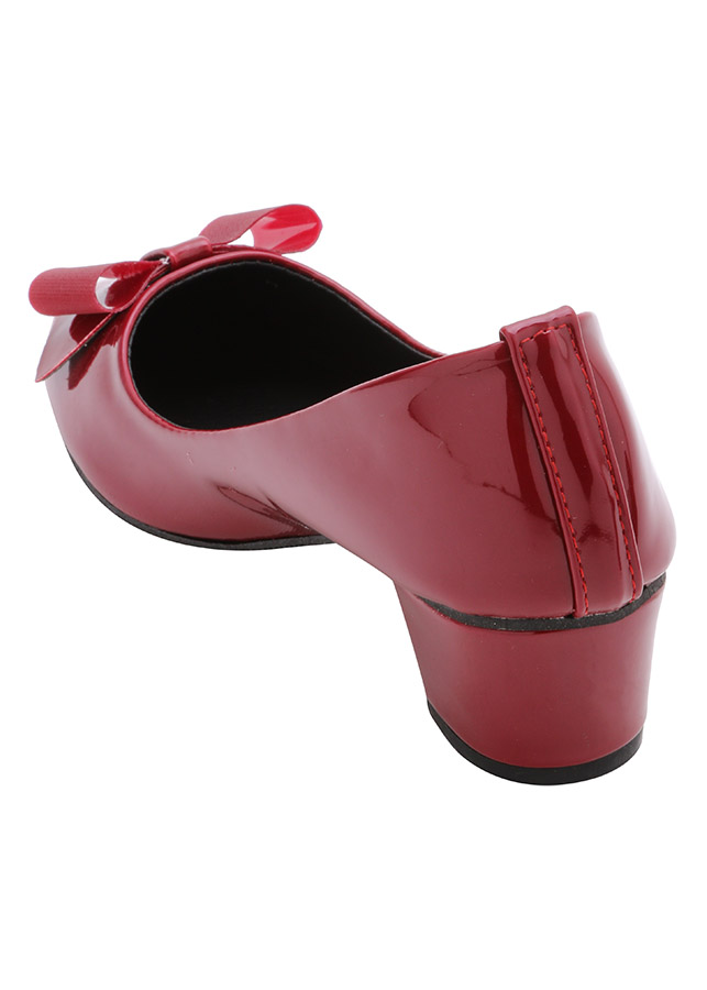 Giày Búp Bê Nữ Cao Gót 3P HTG13