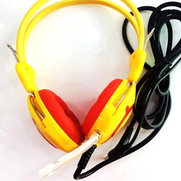 Tai nghe chụp tai siêu trâu hổ trợ mic