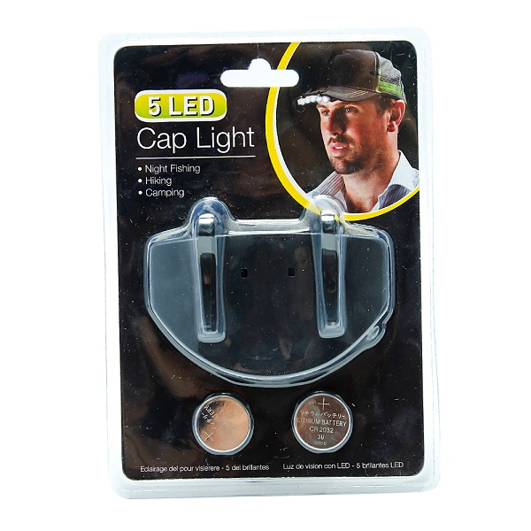 Đèn pin mini gắn nón 5 bóng Uncle Bills LC0131