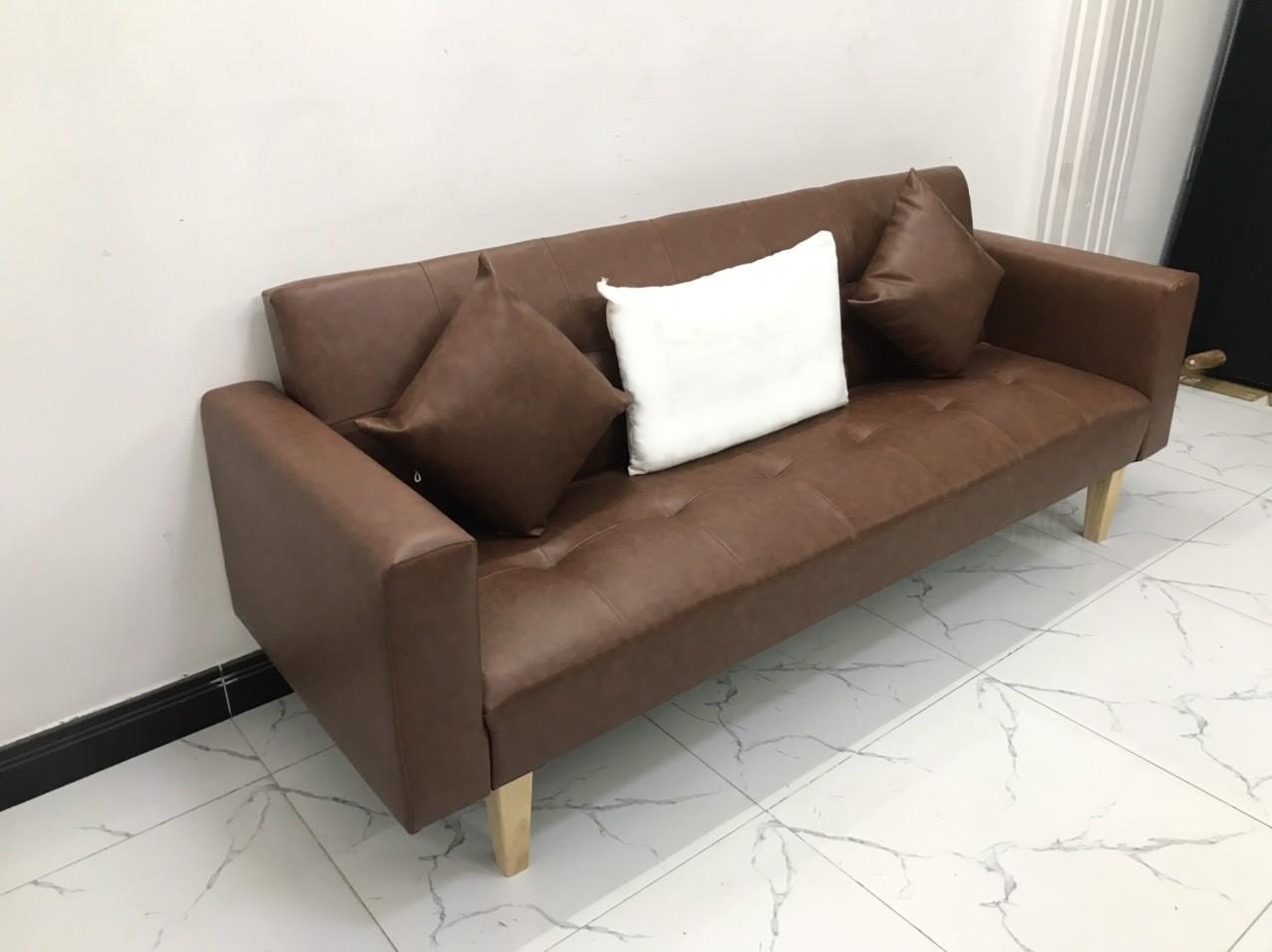 Ghế dài 2mx90 sofa bed tay vịn phòng khách linco8 sopha salon