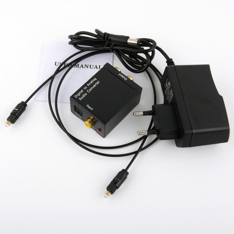 Bộ chuyển đổi âm thanh Optical sang Analog DM33