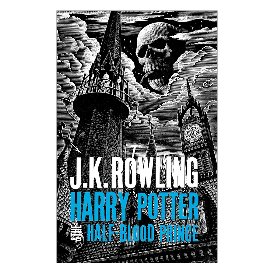 Harry Potter Part 6: Harry Potter And The Half-Blood Prince (Hardback) (Harry Potter và Hoàng Tử Lai) (English Book)