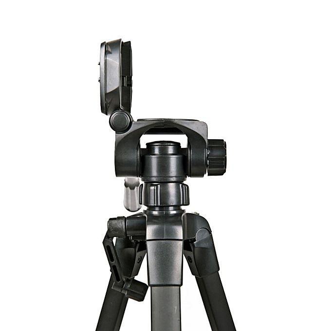 [Tripod] Chân máy ảnh Weifeng WT-3520 khung nhôm cao cấp-Hàng nhập khẩu. Tặng kèm remote + kẹp điện thoại