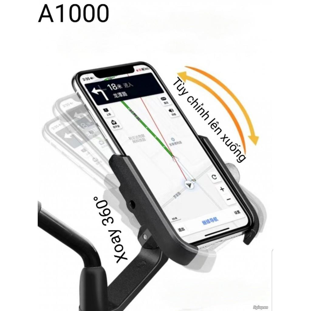 Kẹp điện thoại xe Máy A-1000 loại xịn