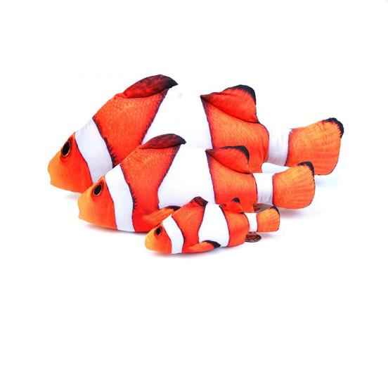 Cá catnip nhồi bông đồ chơi cho mèo (giao ngẫu nhiên)